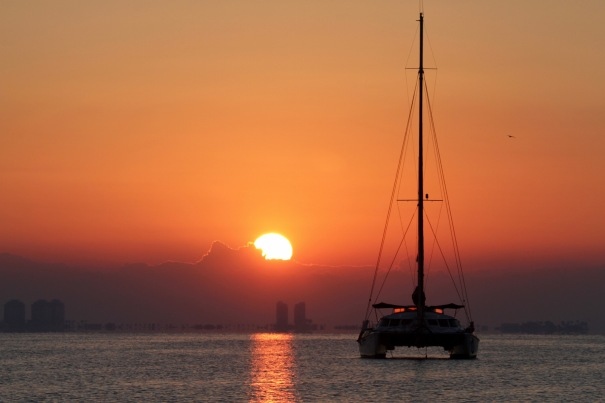 Sunrise at Mar Menor