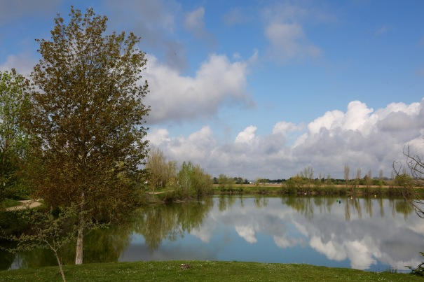 Lake near Marmande